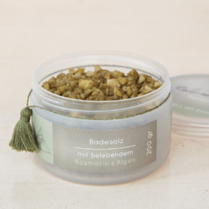 Badesalz mit ätherischen Ölen und Algen-0