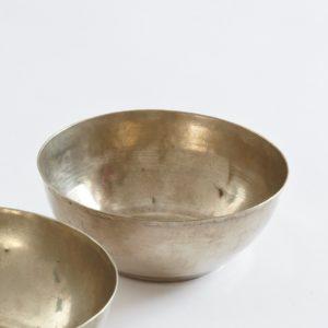schlichte silberne Hamamschale vintage-1636