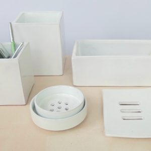 Keramikbehälter 'cube'-2201