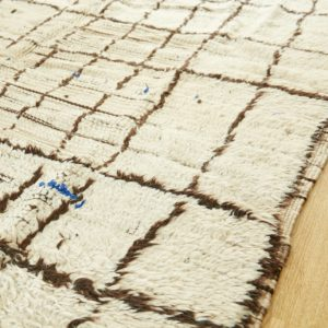 'Beni Ourain' Teppich - besonderes Unikat-3040