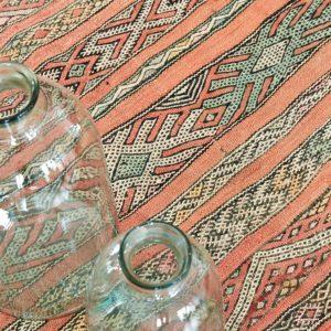 Berber Kelim Teppich Marokko - coral-3190