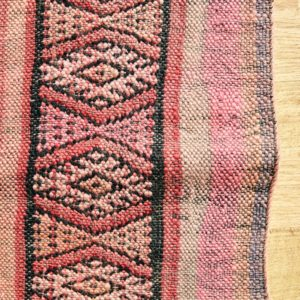Berber Kelim Teppich Marokko - pink-coral-3201