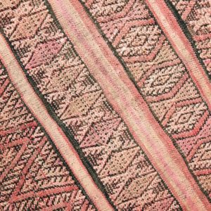 Berber Kelim Teppich Marokko - pink-coral-3202