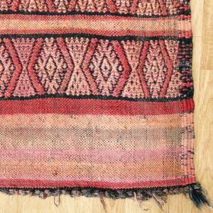 Berber Kelim Teppich Marokko - pink-coral-3203