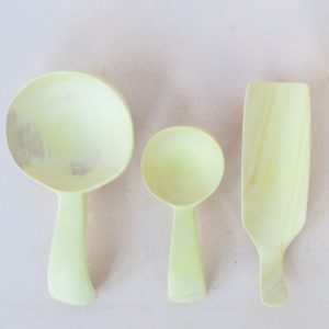 Gewürzlöffel aus Zitronenholz-346