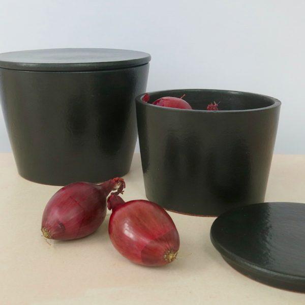 Keramikbehälter mit Deckel-0