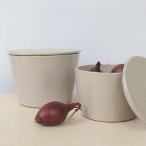 Keramikbehälter mit Deckel-1996