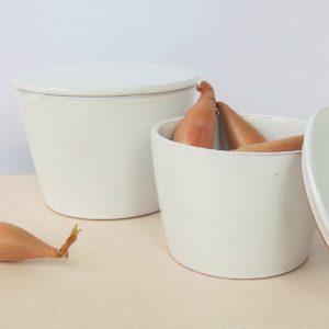 Keramikbehälter mit Deckel-1997