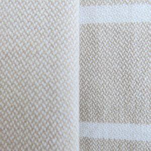 Baumwoll Hamamtuch - farbig mit weissen Streifen-2350