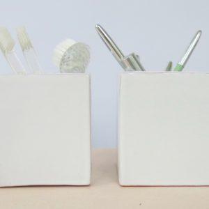 Keramikbehälter 'cube'-2202