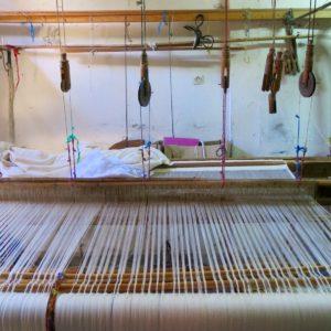 handgewebte Tagesdecke Baumwolle-1572