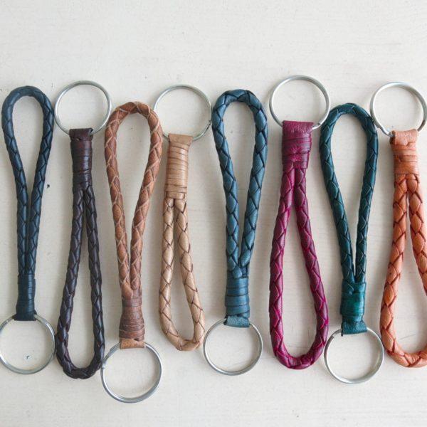Leder Schlüsselband in verschiedenen Farben und Längen-0