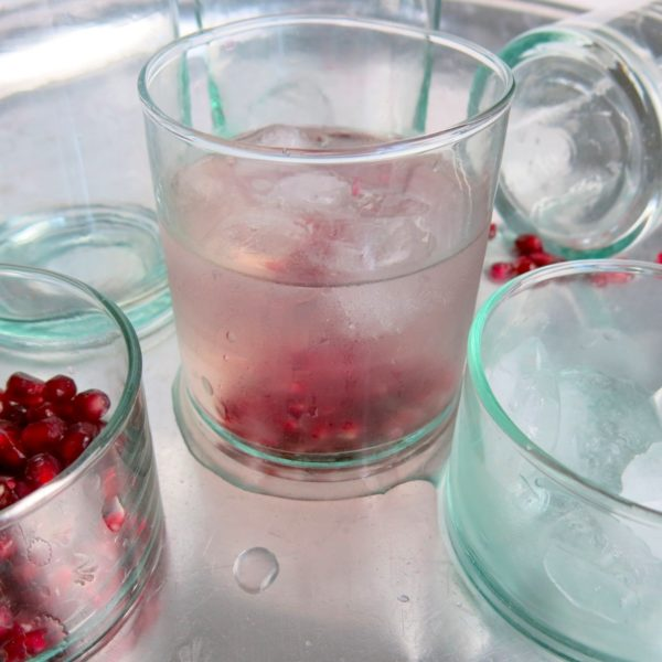 mundgeblasenes Glas-0