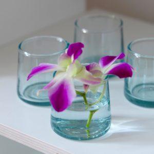 mundgeblasenes Glas konische Form-496