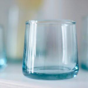 mundgeblasenes Glas konische Form-495
