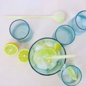 mundgeblasenes Glas konische Form-491