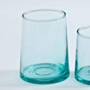 mundgeblasenes Glas konische Form-492