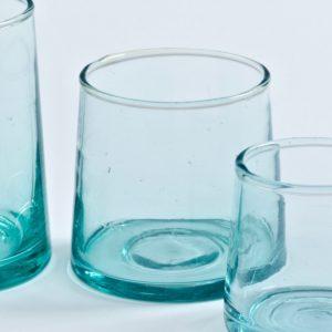 mundgeblasenes Glas konische Form-493