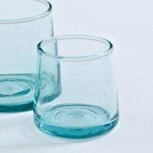 mundgeblasenes Glas konische Form-494