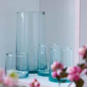 mundgeblasenes Glas konische Form-497