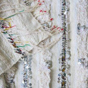 marokkanische vintage Handira Decke - Berber-0