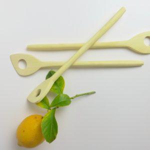 Holz-Kochlöffel aus Zitronenholz-3388