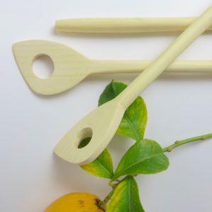 Holz-Kochlöffel aus Zitronenholz-3389