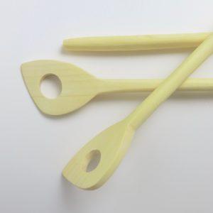 Holz-Kochlöffel aus Zitronenholz-3390