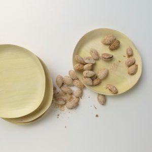 Holzteller aus Zitronenholz-3950