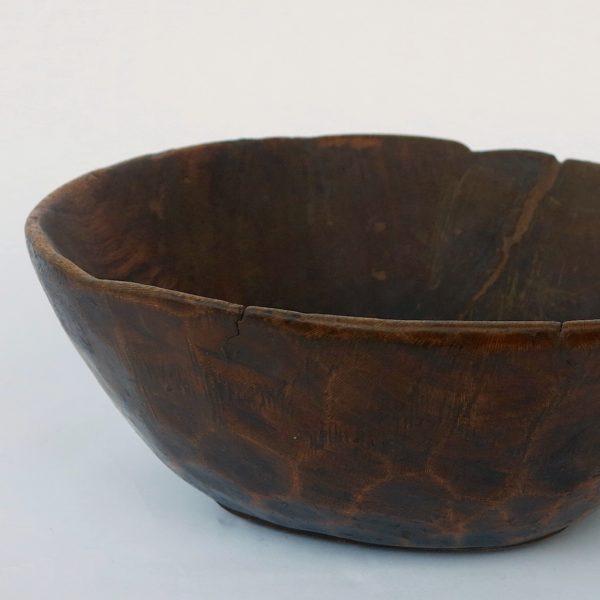 vintage Holzschale Berber - Unikat-0
