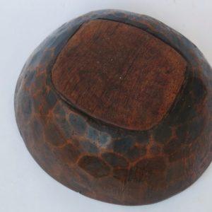 vintage Holzschale Berber - Unikat-1900