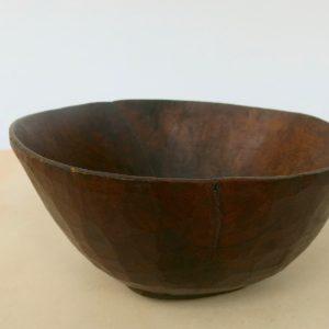 Holzschale Berber vintage - 22 cm DM-1892