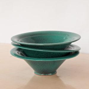 tulpenförmige Servierschale Keramik-0