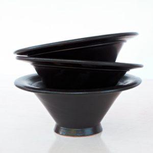 tulpenförmige Servierschale Keramik-2263
