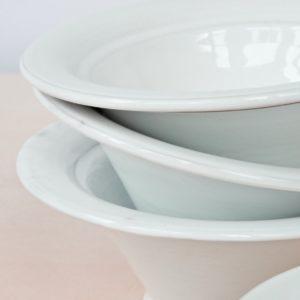 tulpenförmige Servierschale Keramik-2262