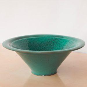 tulpenförmige Servierschale Keramik-2268