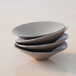 Schälchen Keramik - flach-2145
