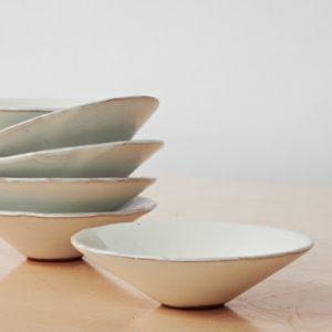 Schälchen Keramik - flach-2146