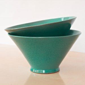 trichterförmige Keramik Schale-2033