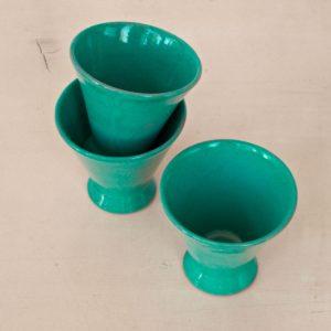 trichterförmige Keramik Schale-2045