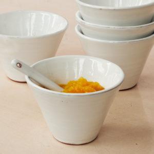 Keramik Schälchen - konische Form-0