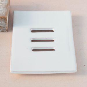 Keramik Seifenschale flach-2070