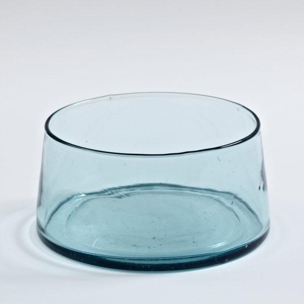 Schale mundgeblasenes Glas-0