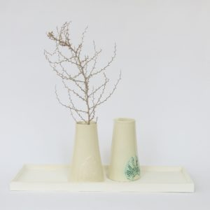 Keramik Karaffe mit marokkanischem Fliesenmuster-Detail-0