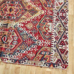 Kelim Teppich Türkei - vintage Unikat-3240