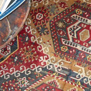 Kelim Teppich Türkei - vintage Unikat-3239