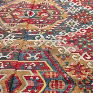 Kelim Teppich Türkei - vintage Unikat-3241