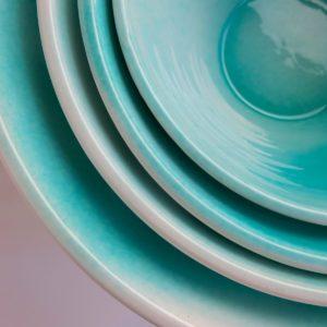 Keramikschale Mallorca - konische Form-3847