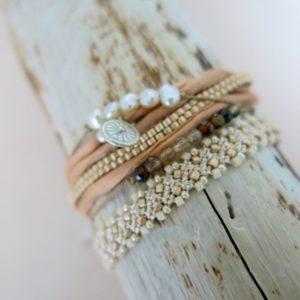 feines Armband 'Achat' Steinchen-2507