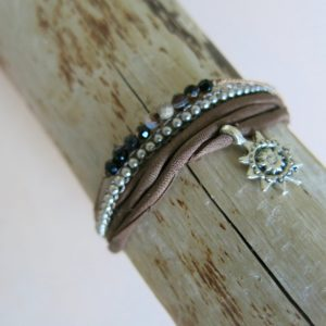 feines Armband 'Achat' Steinchen-2508